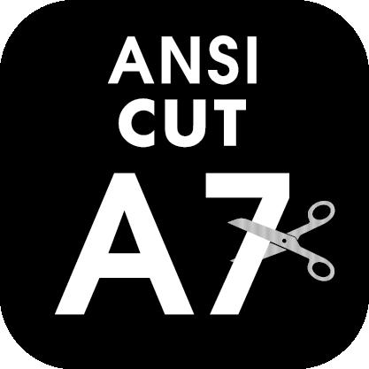 ANSI Cut Level A7 Icon