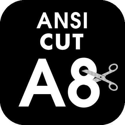 ANSI Cut Level A8 Icon