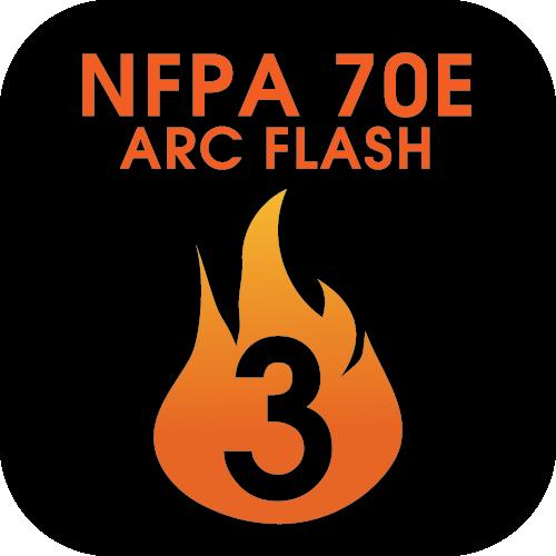 /nfpa-70e-arc-flash-level-3 Icon