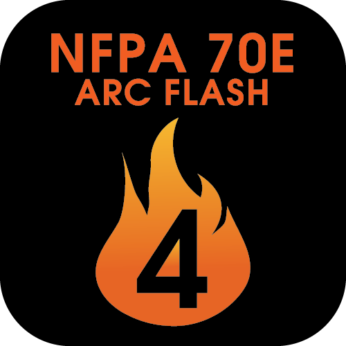 /nfpa-70e-arc-flash-level-4 Icon