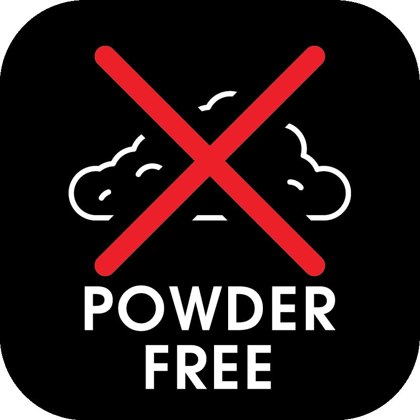 /powder-free Icon