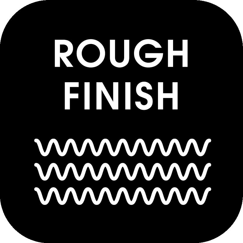/rough-finish Icon