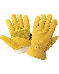 Premium Insulated Water Resistant Grain Cowhide Leather Gloves with Reinforced Palm - 3100CTH