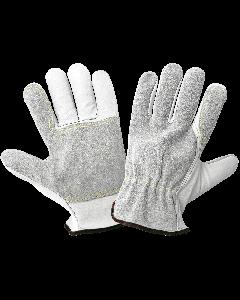 Premium Goatskin Palm and Split Cowhide Back Drivers Gloves - 3150G