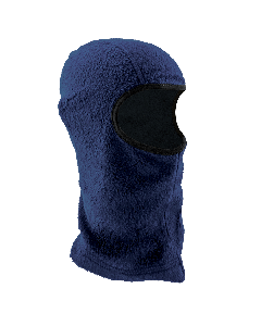 Bullhead Safety™ Winter Liners Navy Blue Shoulder-Length Flame-Resistant Thermal Balaclava - WL280FR