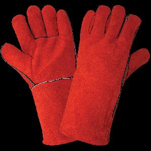 Economy-Grade Split Leather Welders Gloves - 1200E