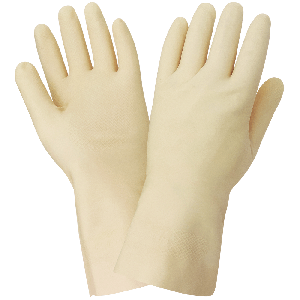 FrogWear® Unlined 16-Mil Latex Fishscale Pattern Grip Unsupported Gloves - 160