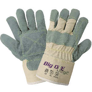 Big Ole® G2 Premium Top-Grade Side Select Split Cowhide Leather Palm Cut and Heat Resistant Gloves - 2000DP
