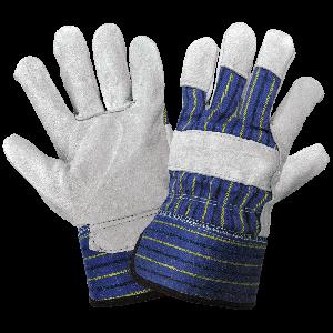 Premium Split Cowhide Leather Palm Gloves - 2120