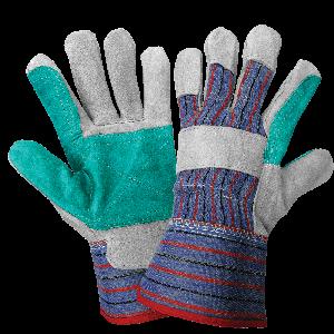 Economy Split Cowhide Double Palm Gloves - 2300DP