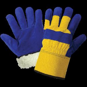 Premium-Grade Split Cowhide Leather Palm Insulated Freezer Gloves - 2805