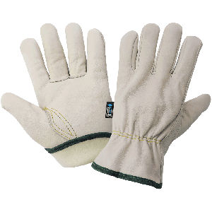 Cowhide Leather Insulated Driver Style Gloves - 3200CTH
