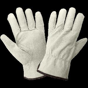 Standard-Grade Grain Pigskin Leather Drivers Gloves - 3200P