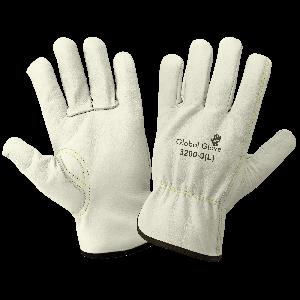 Premium-Grade Grain Cowhide Drivers Gloves - 3200