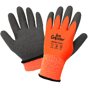 Ice Gripster® High-Visibility Double-Coated Low Temperature Gloves - 380INT