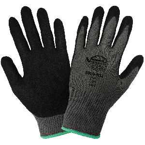 Tsunami Grip® Light Mach Finish Nitrile-Coated Gloves - 500G