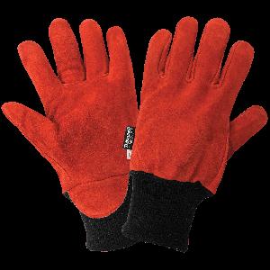 Economy Split Cowhide Leather Freezer Gloves - 624