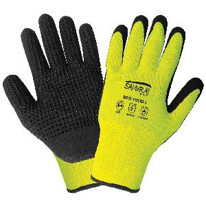 Samurai Glove® High-Visibility Cut and Heat Resistant Dotted Palm Gloves - 802