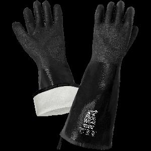 FrogWear® Premium 18-Inch Insulated Neoprene Heat Resistant Chemical Handling Gloves - 9918RINT