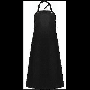 FrogWear® Industrial Black Nitrile Apron - A48B