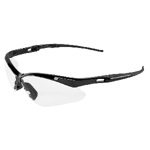 Spearfish® Clear Anti-Fog Lens, Shiny Black Frame Safety Glasses - BH2251AFE