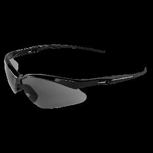 Spearfish® Smoke Anti-Fog Lens, Shiny Black Frame Safety Glasses - BH2253AFE