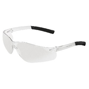 Pavon® Indoor Outdoor Lens, Frosted Clear Frame Safety Glasses - BH516