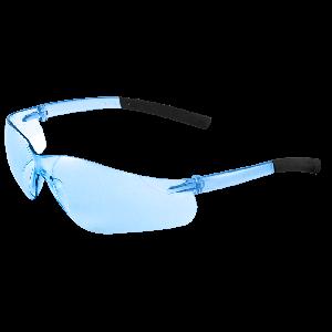 Pavon® Light Blue Lens, Frosted Blue Frame Safety Glasses - BH525