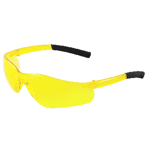 Pavon® Yellow Lens, Frosted Yellow Frame Safety Glasses - BH584