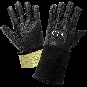 Cut, Impact, and Flame Resistant Grain Goatskin Mig/Tig Welding Gloves - CIA200MTG
