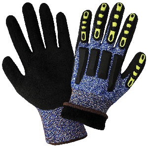 Vise Gripster® C.I.A. Cut, Impact, and Puncture Resistant Water Repellent Coated Gloves - CIA317INT