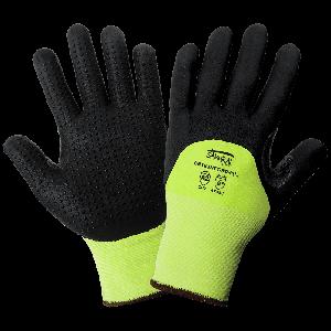 Samurai Glove® High-Visibility Cut Resistant Dotted Gloves - CR183NFT-RD