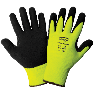 Samurai Glove® High-Visibility Cut Resistant Tuffalene® UHMWPE Gloves with Reinforced Thumb Crotch - CR18NFT-R