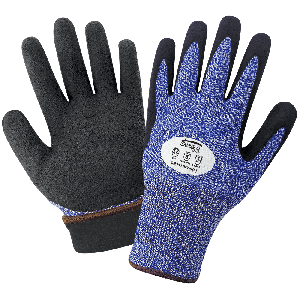 Samurai Glove® Insulated Cut and Puncture Resistant Water Repellent Dipped Gloves - CR317INT