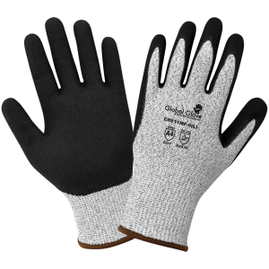 Cut Resistant Mach Finish Nitrile Double-Coated Gloves - CR611MF