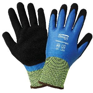 Samurai Glove® Tuffalene® Liquid and Cut Resistant Double-Coated Gloves - CR999MFF