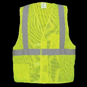 FrogWear® HV Lightweight Mesh Polyester Vest - GLO-001V