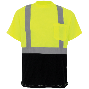 FrogWear® HV Self-Wicking Short-Sleeved Shirt - GLO-007B