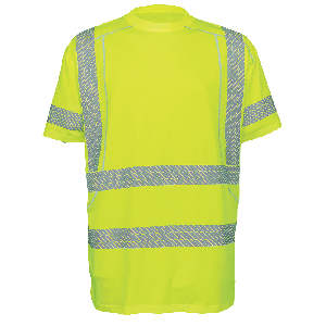 FrogWear® HV  Premium Athletic-Type High Performance Stretch Shirt - GLO-205