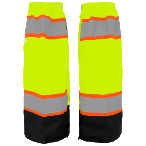 FrogWear® HV High-Visibility Solid Waterproof Gaiters - GLO-G3