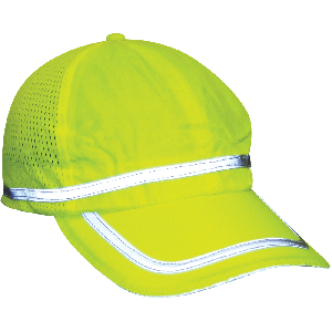 FrogWear® HV High-Visibility Baseball Cap Style Hat - GLO-H1