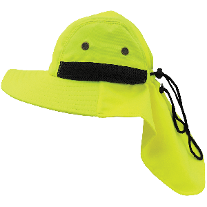 FrogWear® HV High-Visibility Ranger Style Hat - GLO-H5
