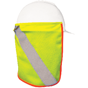 FrogWear® HV High-Visibility Neck Shade for Hard Hats - LIMITED STOCK - GLO-NS1