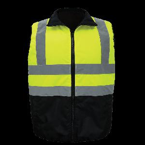 FrogWear® HV Reversible Insulated Safety Vest - GLO-V1