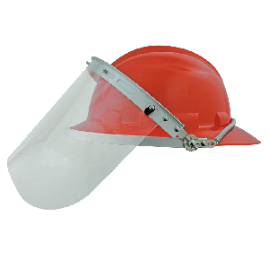 Bullhead Safety™ Head Protection Clear PETG Face Shield - HH-V6