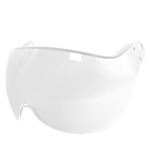 Bullhead Safety™ Head Protection - Clear Anti-Fog Toric Polycarbonate Visor for Climbing Style Helmet - HH-V71AF