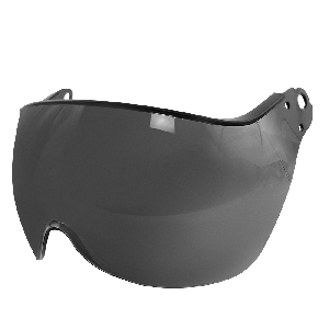 Bullhead Safety™ Head Protection - Smoke Anti-Fog Toric Polycarbonate Visor for Climbing Style Helmet - HH-V73AF