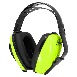 Bullhead Safety® Hearing Protection High-Visibility Economy Adjustable NRR 23 dB Earmuffs - HP-M1