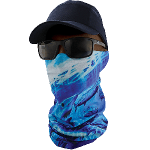 FrogWear™ Premium, Multi-Function, Cooling Neck Gaiter, Underwater Wildlife Design - NG-402