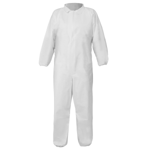 FrogWear™ Premium Microporous PE Film-Laminated Coveralls with Collar - NW-COV630
